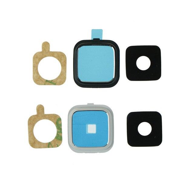 1 bộ Cho Samsung Galaxy note 4 N910 N910F N9100 Cạnh Rear Trở Lại Máy Ảnh Khung Giữ Kính Lens Phụ Tùng Thay Thế