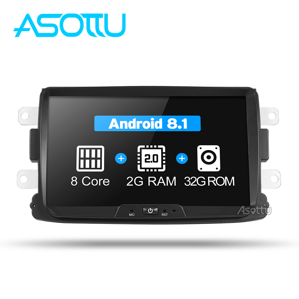 Asottu CDXY8071 2G 32G android car dvd for Renault Duster Dacia Sandero Captur Lada Xray 2
