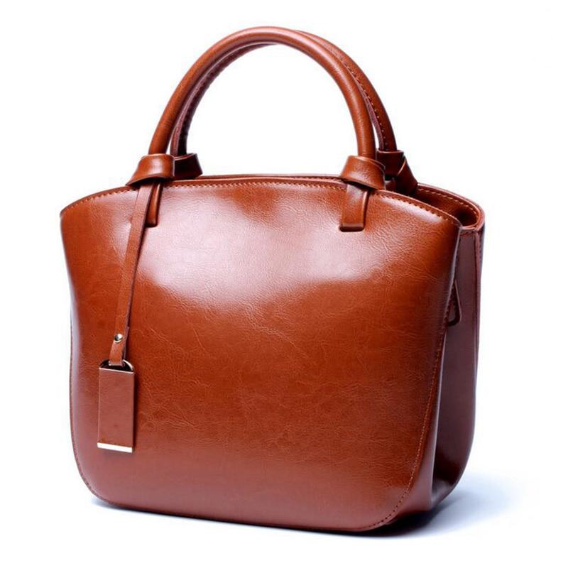 Bagaj ve Çantalar'ten Omuz Çantaları'de Kahverengi Lüks Çanta Kadın Çanta Tasarımcısı Marka Hakiki Deri Çanta Kadın deri çantalar Kadın Omuz askılı çanta bolsas'da  Grup 1