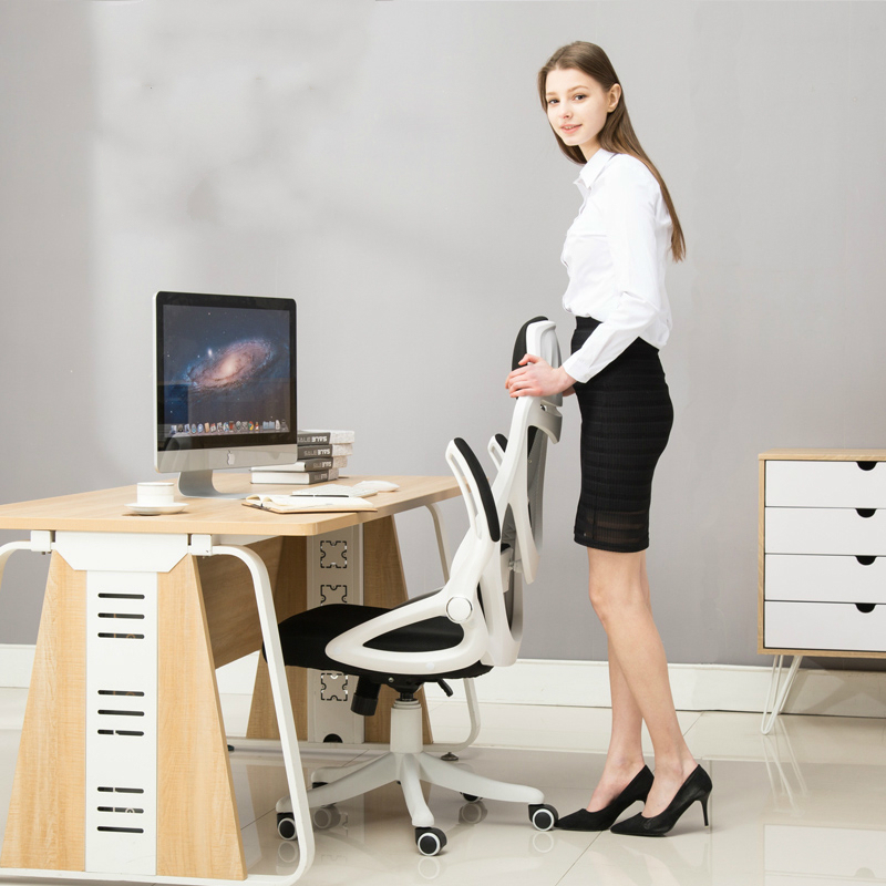Купить с кэшбэком Simple Computer Chair Multifunction Office Chair Household Dormitory Game Chair Lifting and Rotating Breathable Mesh Seat