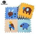 9 Pcs Carton Animais Do Bebê Esteira do Jogo de Puzzle de Espuma EVA Macio para As Crianças Crianças Esporte Esteiras Bebê Engatinhando Tapete De Jogo Educativo tapete
