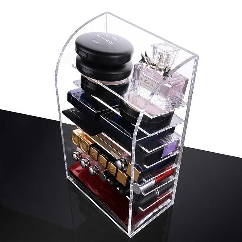 Multi-layer makeup organizer acrylic lipstick holder makeup case cosmetics storage box Nail polish Display Stand rack