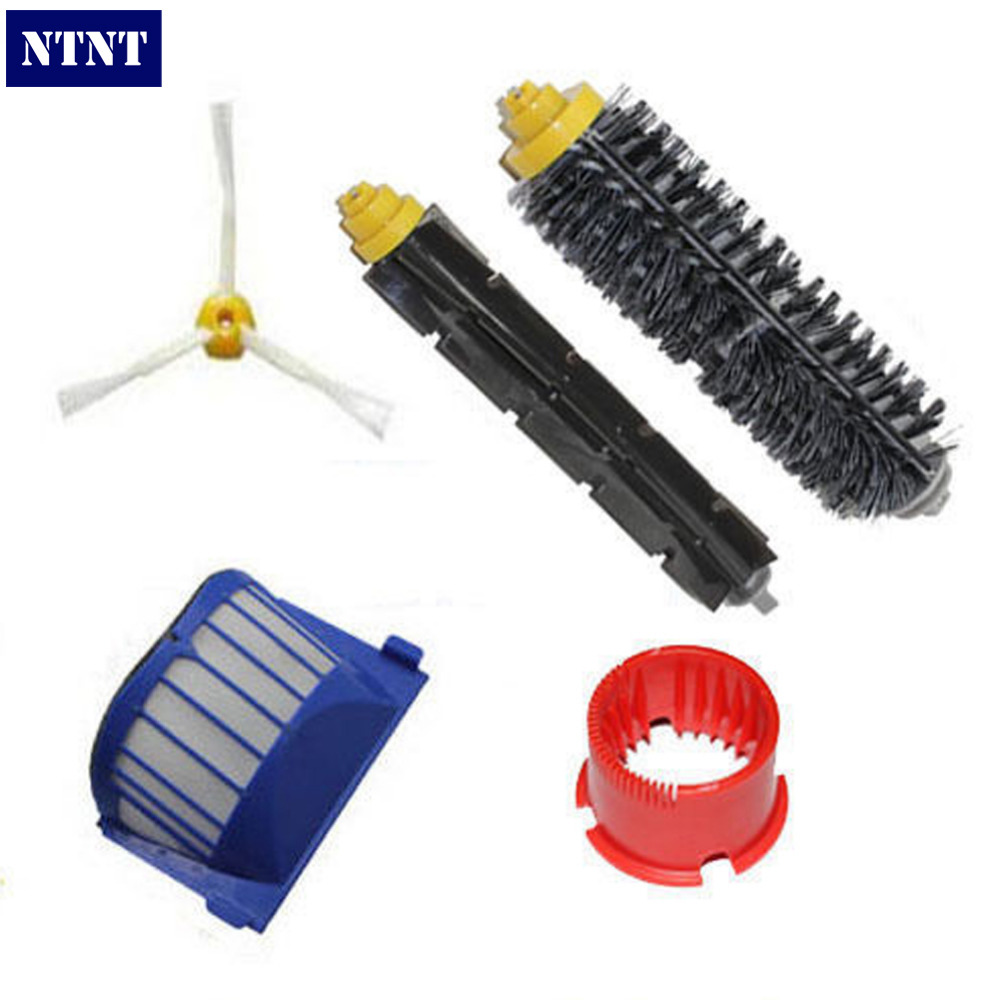 NTNT Free Post New Brush Cleaning Tool Filter Kit for iRobot Roomba 700 Series 6 Armed 760 770 780 vacuum cleaning kit attachement kit dusting dusting brush nozzle crevices tool upholster tool for 32mm