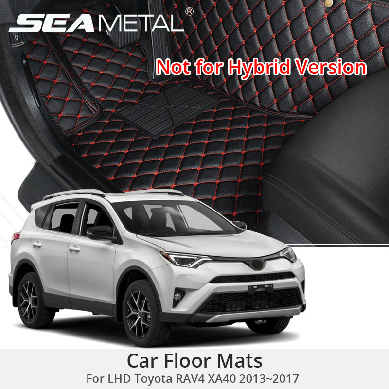 For LHD Toyota RAV4 IV XA40 2017 2016 2015 2014 2013 Car Floor Mats RAV 4