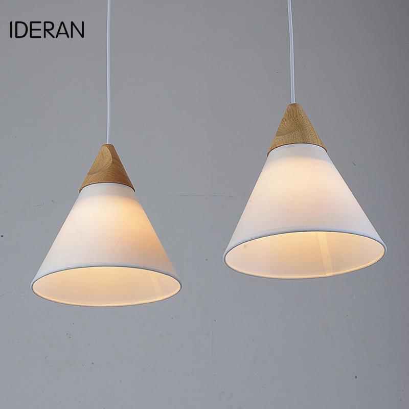Smallpox lamp E27 110 / 220V LED Pendant light incandescent bulb  The wooden structure lampholders socket / bedroom / study room