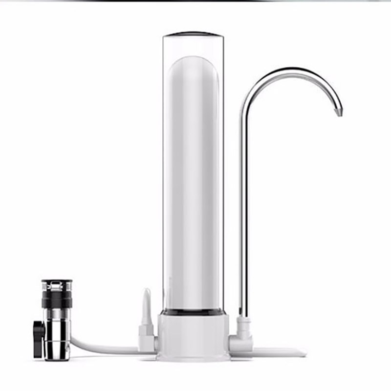 Water Filter Water Faucet Purifier Healthy Ceramic Cartridge Kitchen Desktop Water Tap Faucet Filter