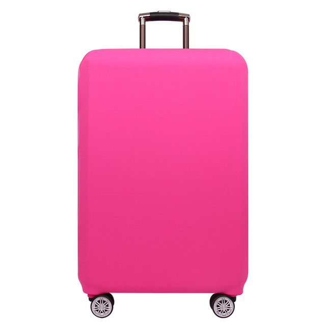 OKOKC Travel Thicken Elastic Pure Color Luggage Suitcase Protective Cover, Apply to 18-32inch Cases, Travel Accessories