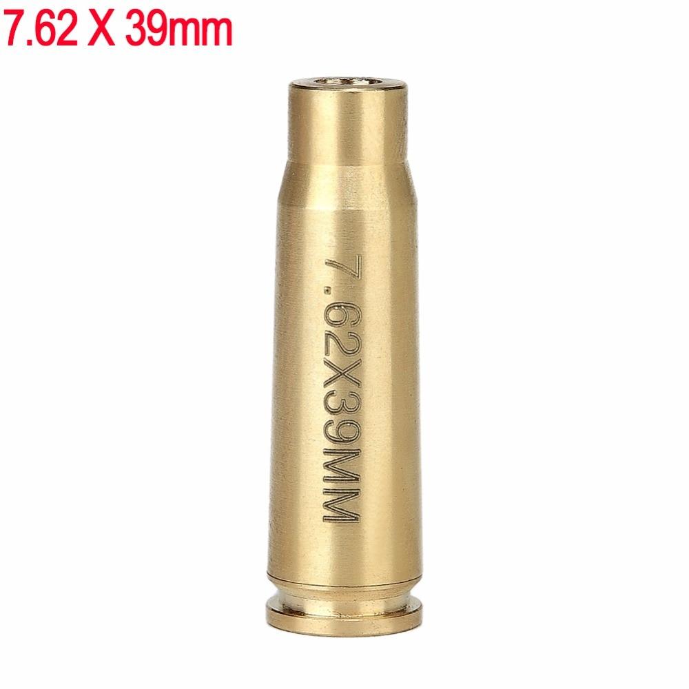 Spike Tattico Pallottola 7.62x39mm In Ottone Cartuccia Red Dot Laser Bore Sighter per fucile da Caccia e fucile