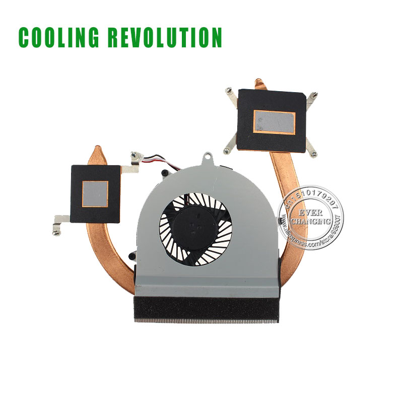 CPU FAN HEATSINK FOR Sony SVE14111RGB SVE141A11P Sve14118FGB 300-0101-2367_A