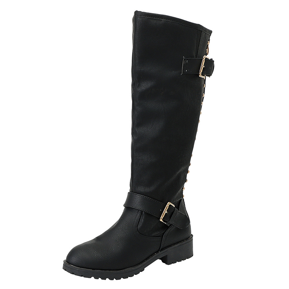 High Quality Knee High Boots Women Soft Leather Knee Winter Boots Comfortable Warm Women Long Boots Shoes 35-43 2016 new fashion winter knee high boots high quality personality knee high boots comfortable genuine leather boots