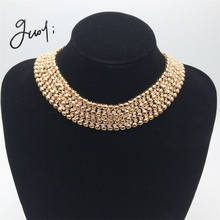 Guoyi A035 Jewelry set Rhinestone Bride Jewelry Set Wedding jewelry accessories Ms. collar necklace jewelry Rhinestone beads