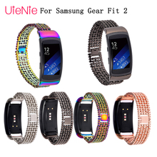 High Quality watch band Stainless Steel Bracelet Band For Samsung Gear Fit2 SM-R360 Smart Watch Strap For Gear Fit 2 Watchbands fashion watch band luxury replacement silicone watchbands for samsung gear fit 2 fit2 sm r360 bracelet wristband strap hot sale