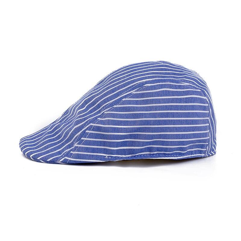 1e3b831f905f8 Moda adultos Boinas gorras para hombres mujeres casquillos unisex clásicos  de la tela escocesa del algodón Boinas boina casquette al aire libre gorra  plana ...