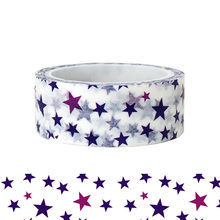 20pcs/set Blue Purple Romantic Lively Little Star Washi Tape Cute Children Puzzle DIY Decorative Stationery and Paper Washi Tape(China)