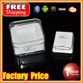 Gift Box Viecar 4.0 Smallest White MINI ELM327 Bluetooth OBD2 / OBDII ELM 327 with Head Up HUD Display on Android