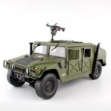 نموذج مصبوب لسيارة هامر التكتيكية 1:18 نموذج سيارة عسكرية مدرعة مع 5 أبواب لعبة هواية مفتوحة للأطفال عيد ميلاد
