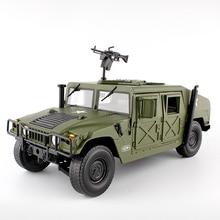 Liga diecast para hummer veículo tático 1:18 carro blindado militar diecast modelo com 5 portas aberto hobby brinquedo para crianças aniversário