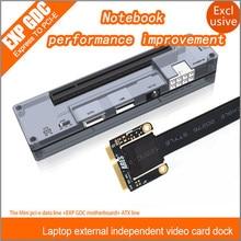 Brand New PCIe PCI-E PCI Laptop External Independent Video Card Dock Express Card Mini PCI-E Version For V8.0 EXP GDC