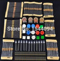 1 sets Handy Portable Resistor Kit for Arduino Starter Kit UNO R3 LED potentiometer tact switch pin header