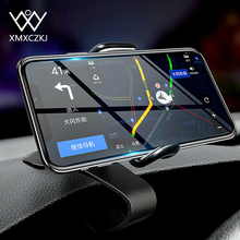 XMXCZKJ Dashboard Car Phone Holder 360 Degree Mobile Stand Grip in Universal Adjustable Cell Mount