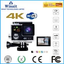 "EKEN H8 s upre 4พันwifiการกระทำกล้อง/VR 360วิดีโอฟังก์ชั่นกล้องกีฬาที่มี2.0 ""จอแสดงผลTFTกล้องกันน้ำฟรีการจัดส่งสินค้า"