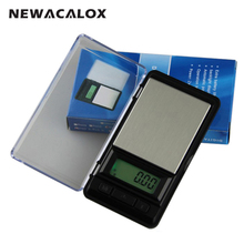 NEWACALOX 200g x 0.01g Precision Digital Pocket Scale for Gold Bijoux Diamond Scale Jewelry 0.01 Weights Electronic Scales