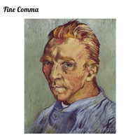 Self-portrait without beard(Portrait de L'artiste Sans Barbe) by Vincent van Gogh Hand painted Oil Painting Reproduction Replica