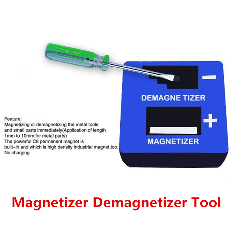Fast Screwdriver Magnetizer Demagnetizer Increase Or Decrease The Magnetic Head Of The Screwdriver Fast Magnetic Degaussing