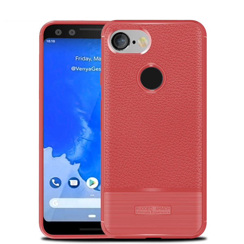 Silicon Case For Google Pixel 3 Case Anti-Knock Silicon Cover For Google Pixel 3 5.4 Inch Covers Housing Phone Shell