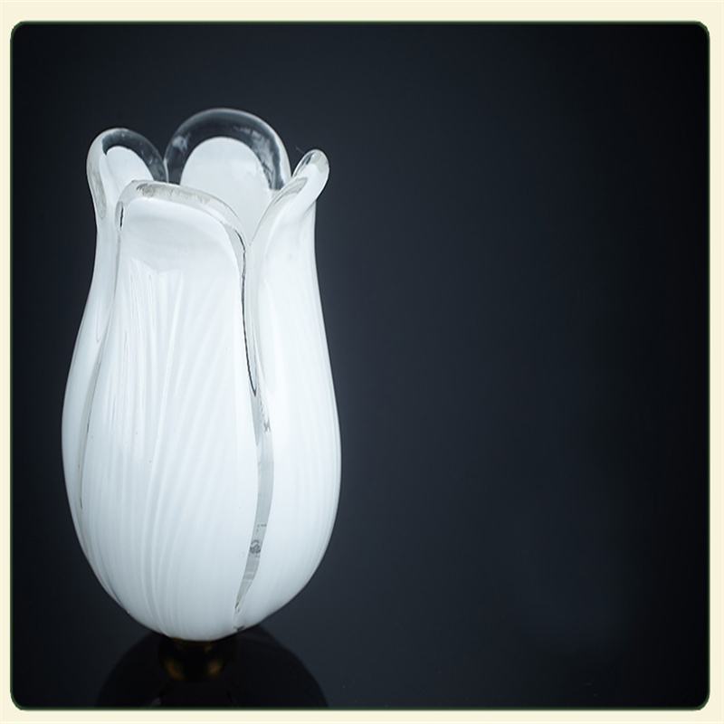 FUMAT Flowers Lámpara de pie Interior Retro Glass Art Decoración - Iluminación interior - foto 2