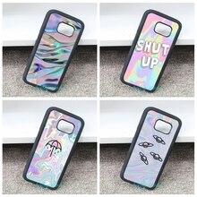 Голографические искусства моды телефон Cover Case для Samsung galaxy S3 S4 S5 S6 S7 S7 S6 край край Примечание 3 Примечание 4 Примечание 5 и bb218