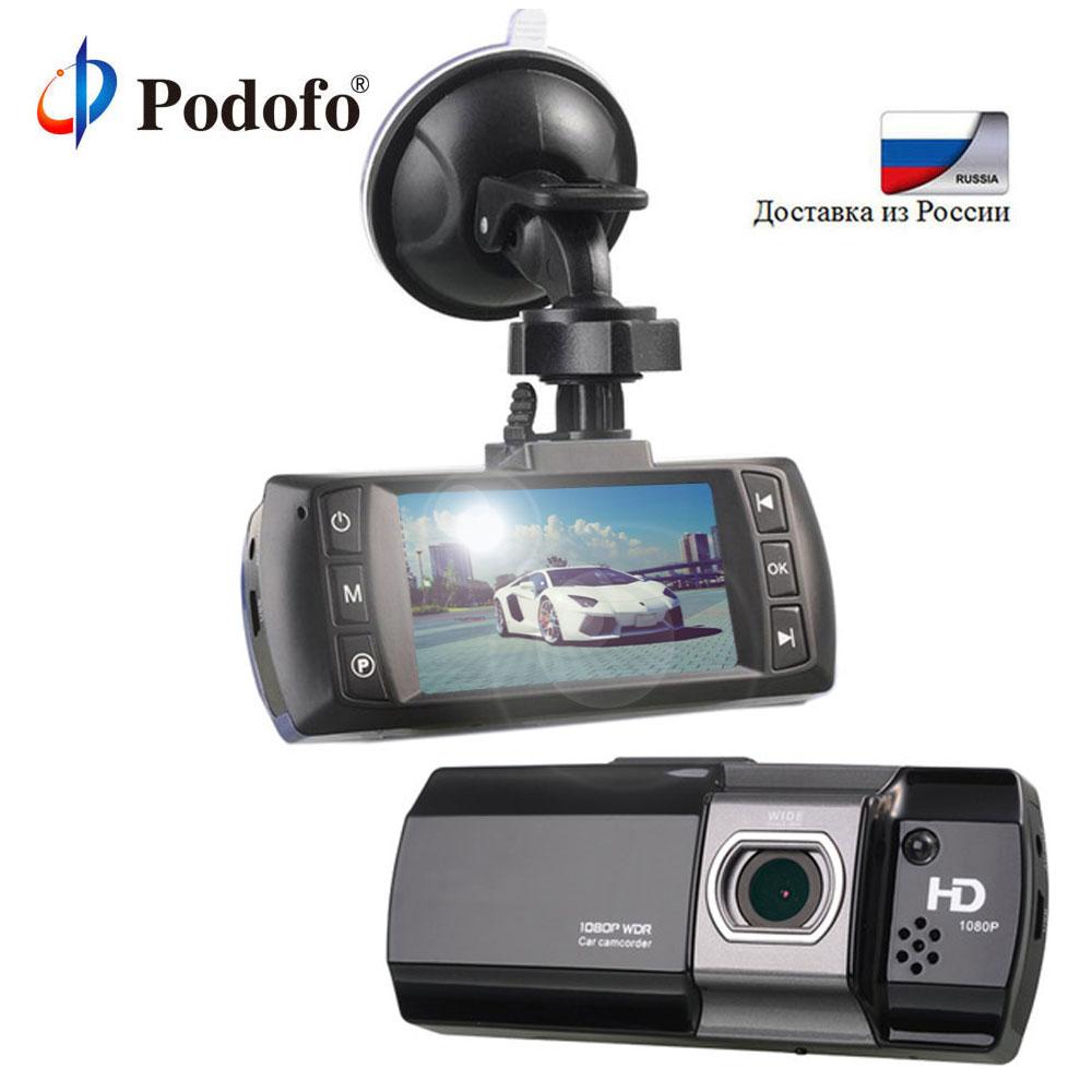 Podofo Новатэк 96650 Видеорегистраторы для автомобилей Камера Topbox AT550 Full HD 1080p видео регистратор Регистраторы HDR g-сенсор Ночное видение регистрат...
