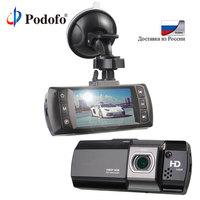 Podofo Novatek 96650 Car DVR Camera Topbox AT550 Full HD 1080P Video Registrator Recorder HDR G sensor Night Vision Dash Cam