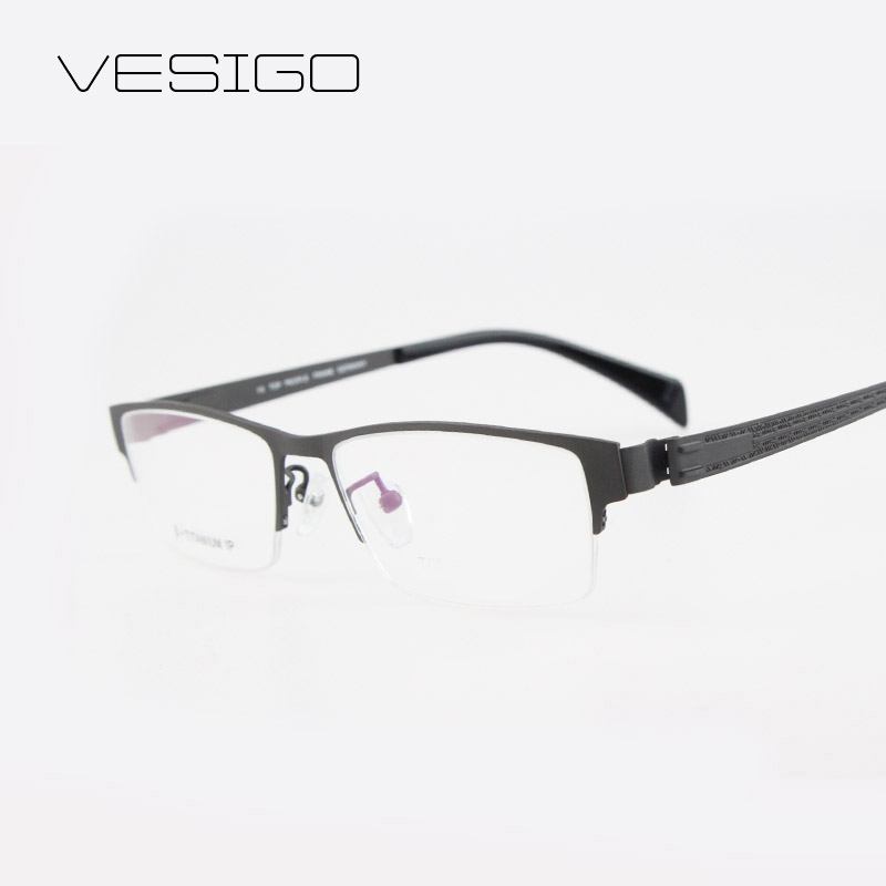 Fashion Glasses Frame 2016 Men Optical Frame Eyeglasses Clear lens Reading for Computer Myopia Titanium Frame Popular</fon