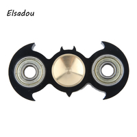 Elsadou 2017 Best Hand Spinner Batman Shape Finger Spinner Fidget Toy