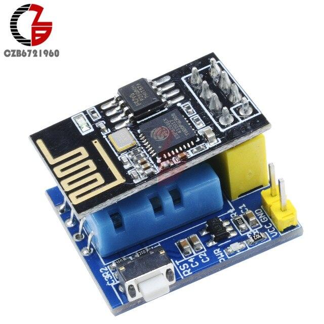 Wifi ESP8266 ESP-01 ESP-01S DHT11 Temperature Humidity Sensor Meter Module Wireless Thermometer for NodeMCU Smart Home IOT