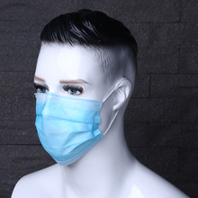 Moledodo 100pcs Disposable Mouth Mask Non-woven Fabrics Anti Fog Haze Dust Prevention Breathable Masks Beauty Outdoor Face