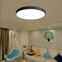 Dining Room Ceiling Light LED Bedroom Ceiling Lamp 2.4G Remote Control Dimming Lamp Living Room Decoration Light Iron AC90 260V