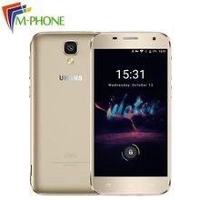 Доставка от RU Оригинальное uhans A101S 5.0 дюймов 3 г мобильного телефона Android 6.0 MTK6580 Quad Core 2 ГБ + 16 ГБ Dual SIM смартфон