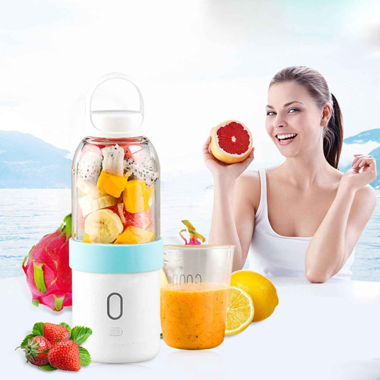 550ml portátil liquidificador usb juicer copo frutas vegetais misturador smoothie milk shake mão pessoal pequeno suco fazer máquina extrator