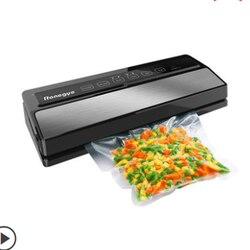 Vacuum Food Packaging Machine Small Household Vacuum Sealing Machine Commercial Plastic Bag Plastic Compressor