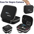 "Small Gopro Case for Gopro Hero 4 , 3+, 3 , 2 , 1 SJ4000 , SJ5000 and Accessories (7.6""x6.6""x2.4"") Travel & Household gopro Case"
