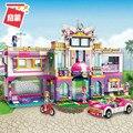 Enlighten строительный блок для девочек  друзей  праздничная вилла  944 шт  Обучающие кирпичи  игрушка для мальчика  подарок-без коробки