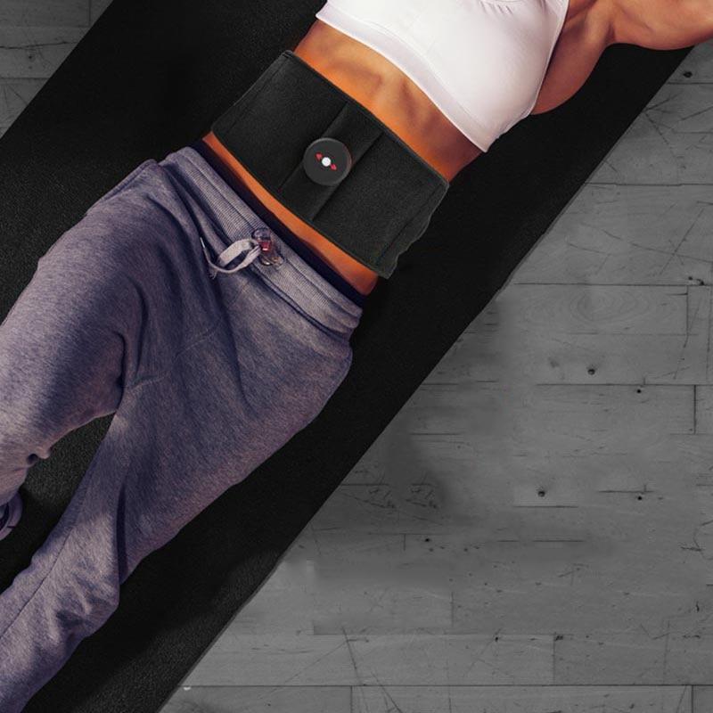 Ceinture protection intelligente EMS façonnage corps maison muscles abdominaux massage intelligent