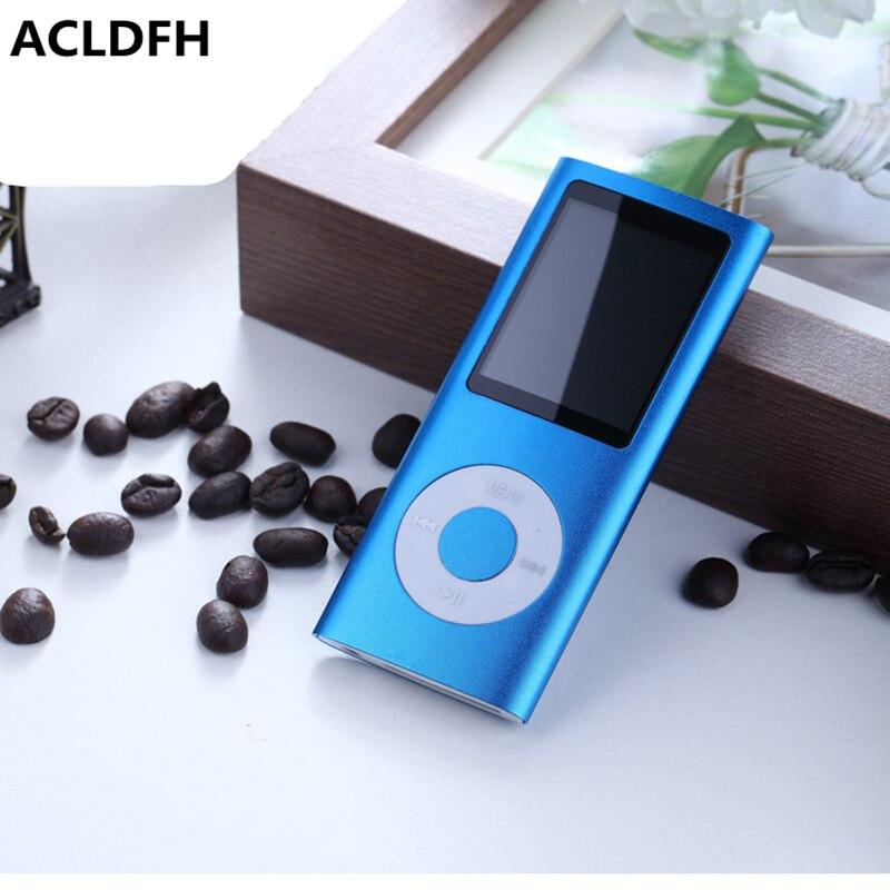 ACLDFH Mp3 Lecteur de Musique Radio FM Enregistreur Speler Lecteur HIFI Mp3 Sport Clip USB Aux muziek numérique led lcd écran joueurs mp-3