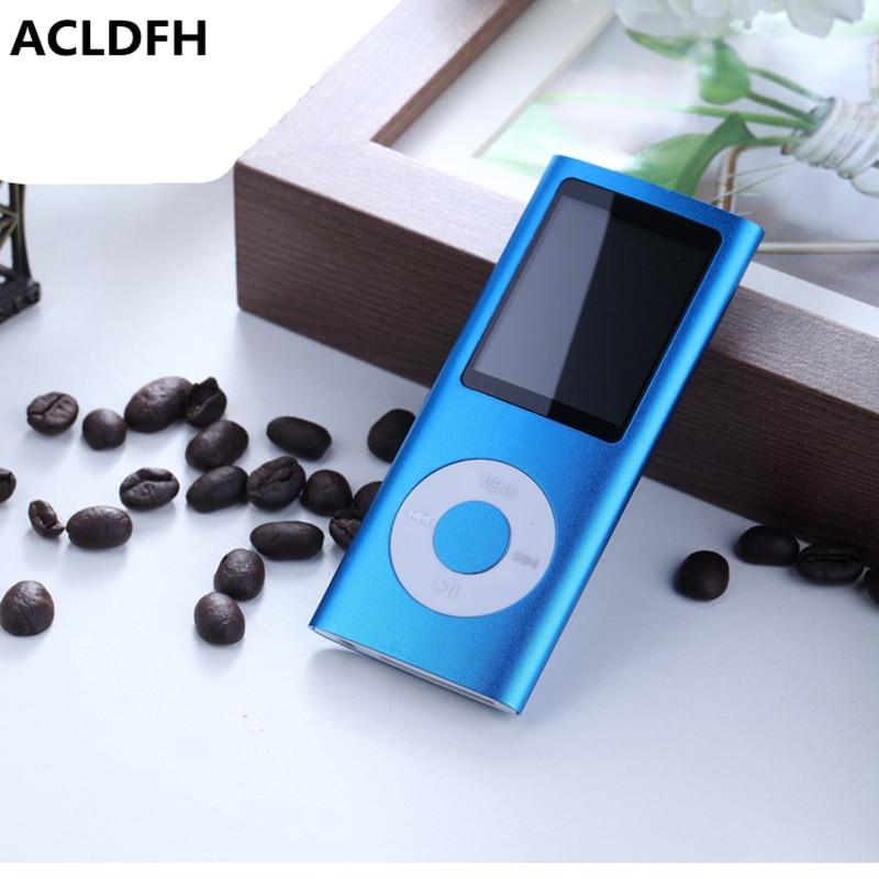 ACLDFH Mp3 reproductor de música FM Radio grabadora reproductor lector HIFI Mp3 deporte Clip USB Aux muziek led digital pantalla lcd los jugadores MP-3