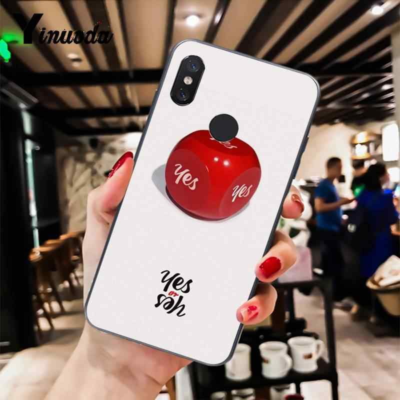 Yinuoda dos veces mi na Momo Kpop duro novedad Fundas funda para teléfono para Xiaomi mi 6 mi x2 mi x2S Note3 8 8 lite Redmi 5 note5 Note4 4X