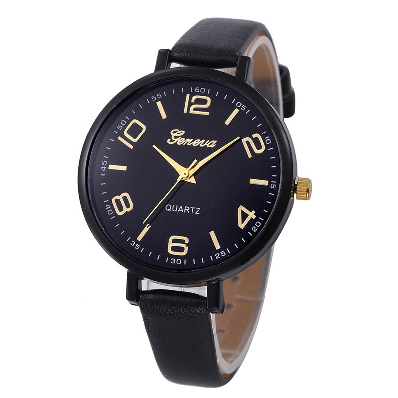 2018 Women Watches Watch Small Faux Leather Quartz Analog Wrist Watch Ladies Bracelet Watch Hot Sale