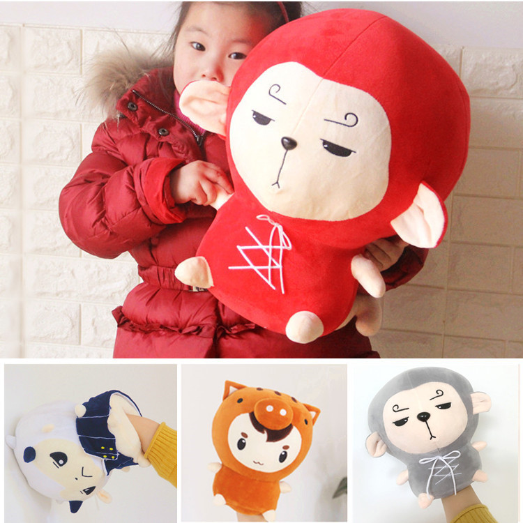 Candice guo plush toy stuffed doll cartoon animal TV model Hwayugi A Korean Odyssey warm hand warm pillow kid christmas gift 1pc candice guo plush toy stuffed doll cartoon animal little sheep cute lamb soft pillow cushion birthday gift christmas present 1pc