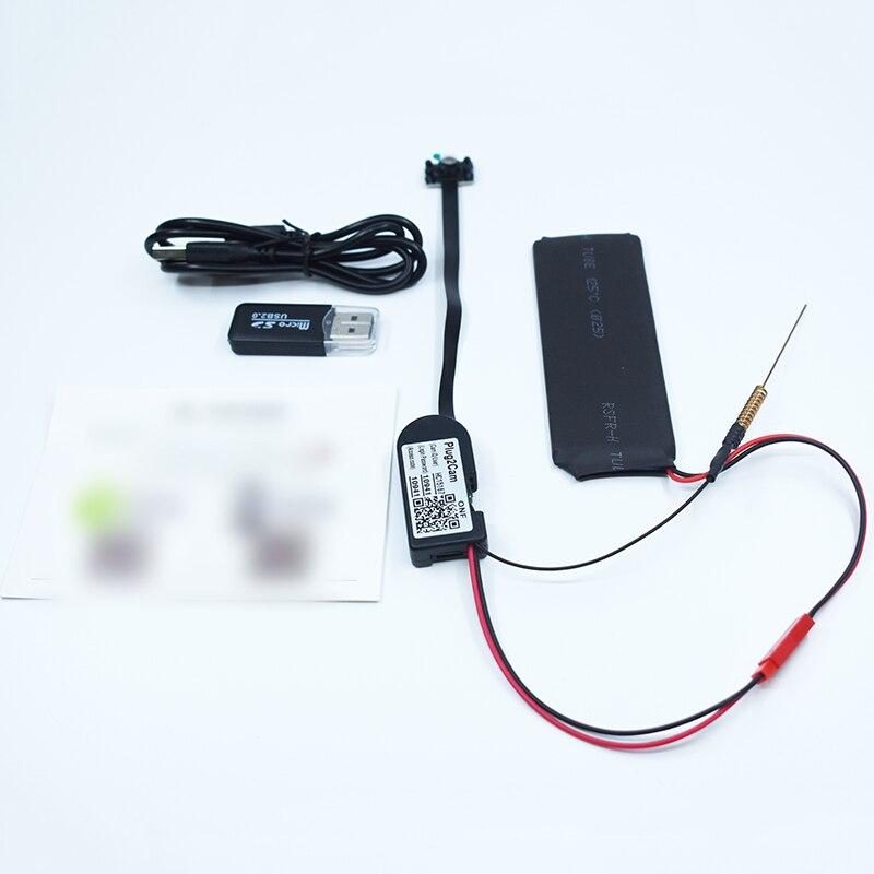Practical Mini 1080P Wireless Network WIFI IP High Definition DIY Camera Video DVR Video